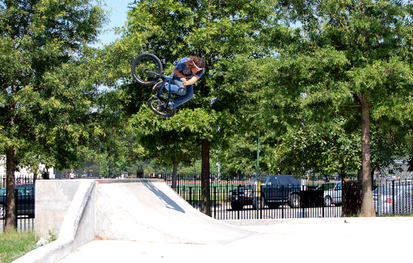 Adam Ginch, Big Air lil Quarter!