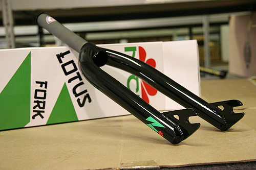 Lotus forks. Butted, tapered, Roasted.