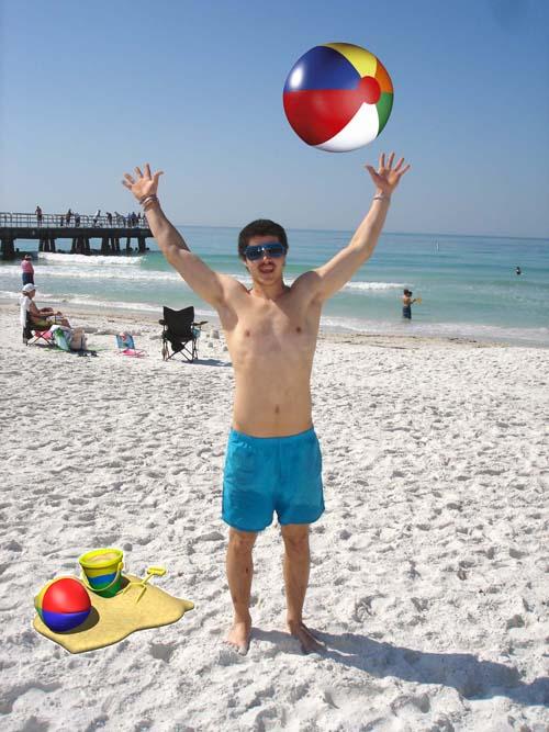 Lifes a beach.