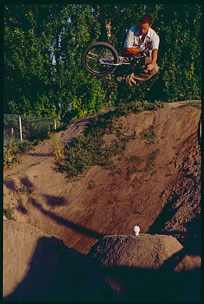 Ride BMX Editor and FBM custom frame rider Keith Mulligan.