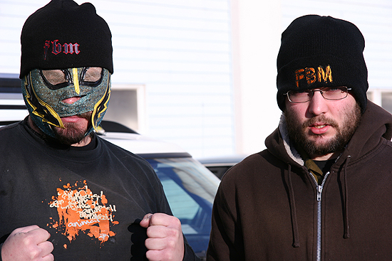 New beanies are in, Luchadore masks are not, unfortunately.