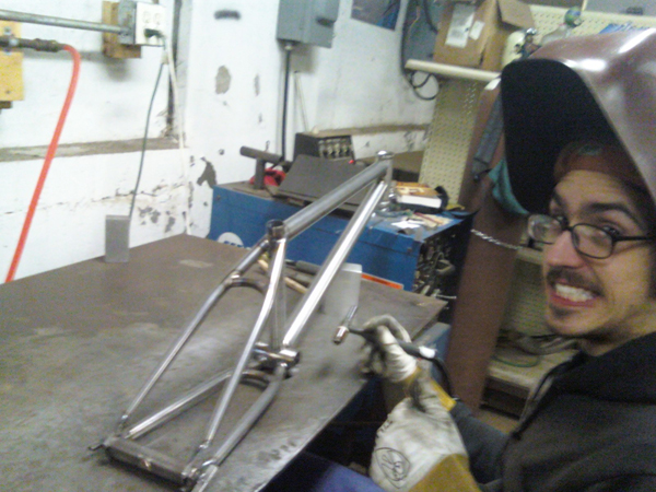 Know your welder,  Joby when he is not texting