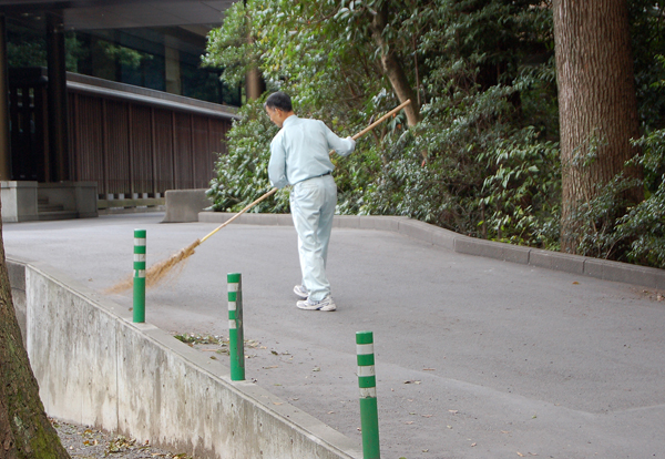 I'll sweep Yo head.... Tokyo Style!