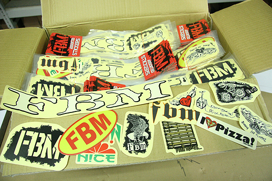 Brand new sticker packs, thousands and thousands of them.