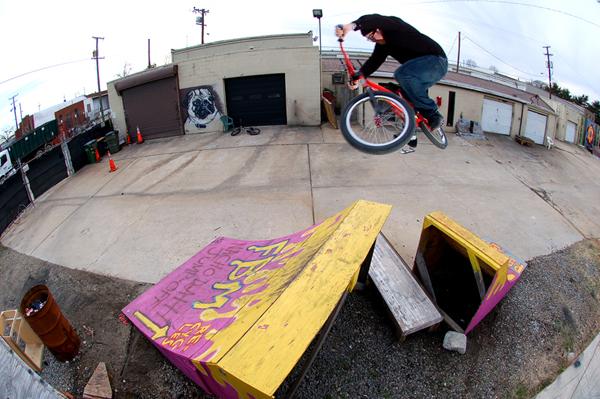 Steve Crandall, Steadfast test ride, late january- 2010