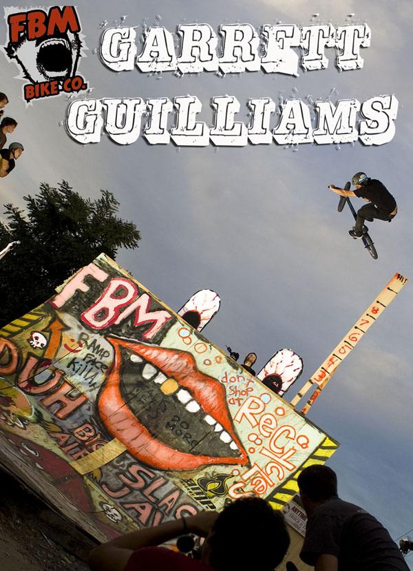 Garrett Guilliams will be at the BBQ...