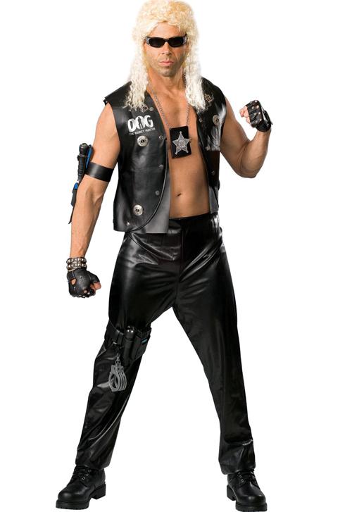 Joel Barnett dressed as Dog the bounty hunter as well...