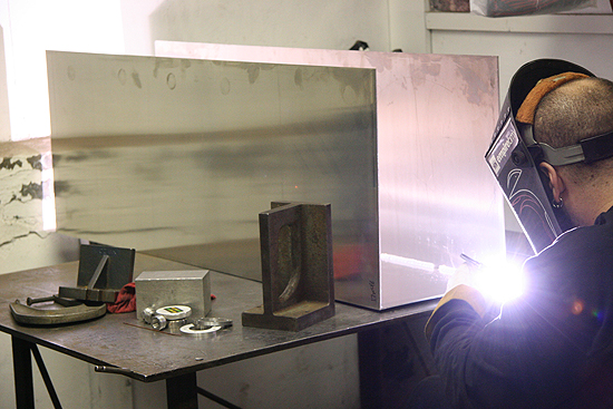 If you need it Tig welded, we've got the machines and the manpower.