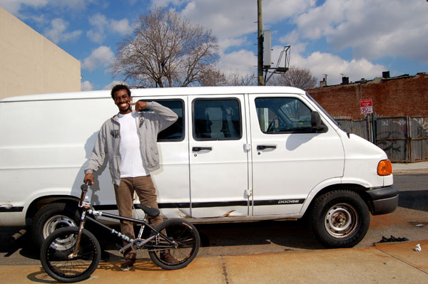Wormz and his new rides, an 01 Dodge ram van and an FBM howler