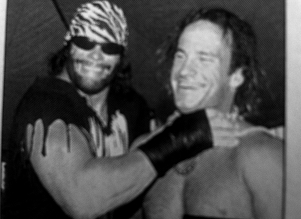 Wildman and the machoman!