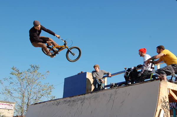 Evan V. Ramp session!