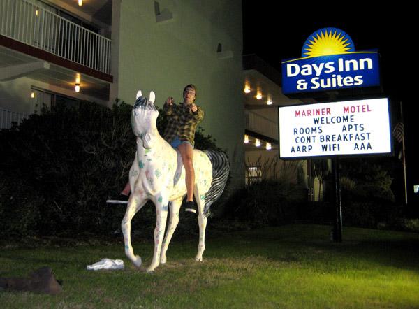 Evan, Days in Horse Ride, Kill Devil Hills...