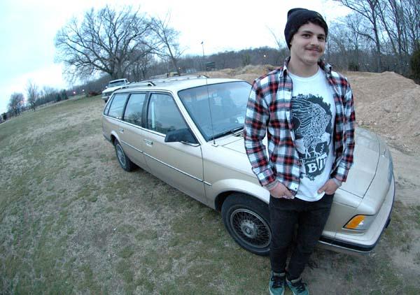 Garrett Guilliams drove a station wagon to Florida....
