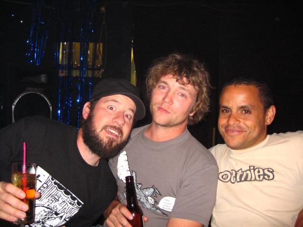 Foodboy, Corrigan, and Mark Losey.