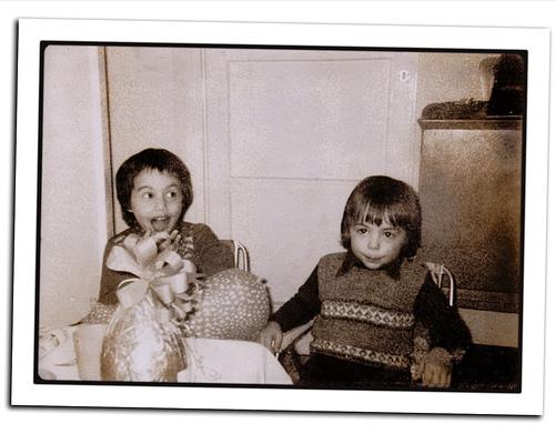 Adam and  Garrett, circa 1978- beecher kids