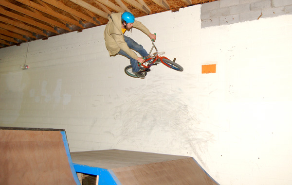 Today is Opies Bday, happy birthday gap to wall ride at East Shore....