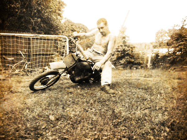 Kelly Baker Backyard Motocrossin...what year is this?