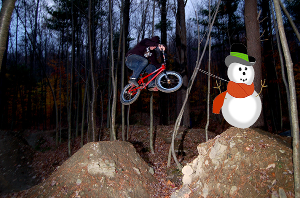 Snowman launch.