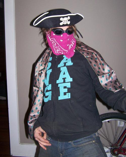 Memmy the pirate?