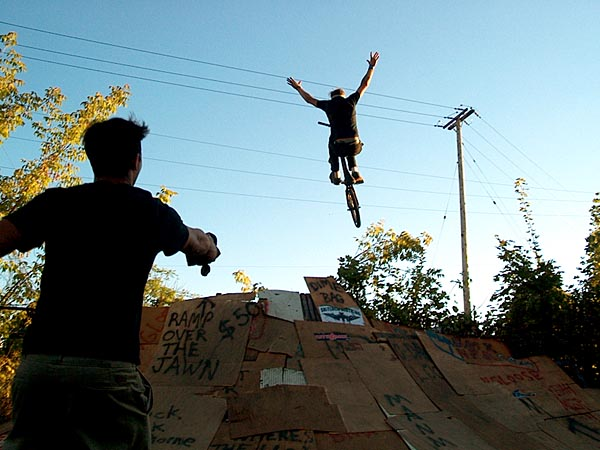 Archived Hallman pic of Evan V. Ghetto comp 2003!