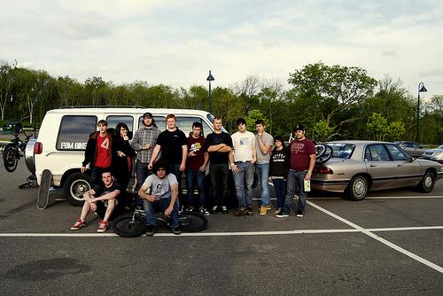 The crew of crewbians