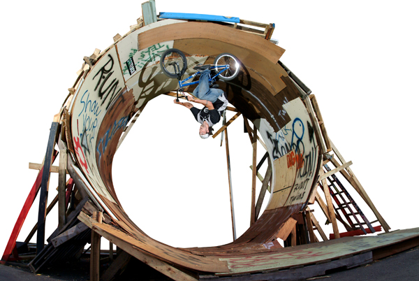 Fisher, archived loop made of pallets...