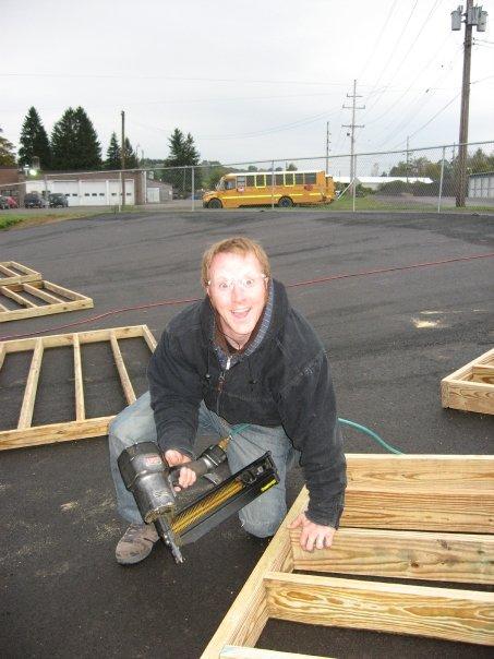 John Saxton- ramp builder.