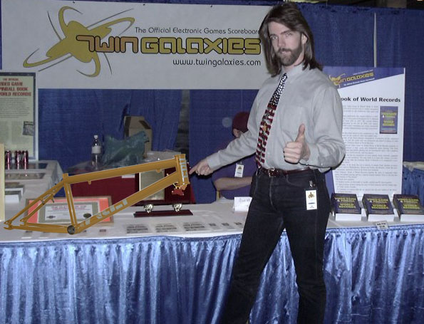 Does Billy Mitchell endorse the FBM Exodus Frame?