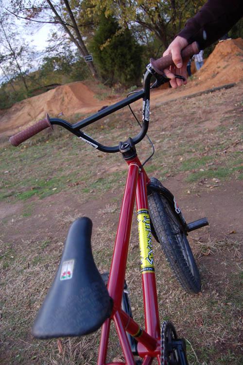 Nice bike dude....