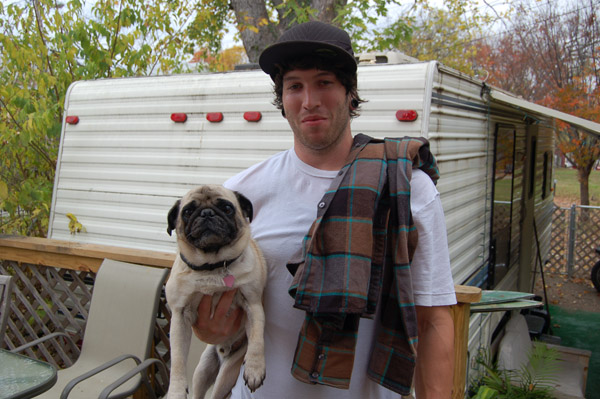 Chase Dehart and the New Cult Pug!