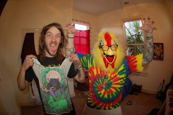 Which came first the Chicken or the tie dye shirt?