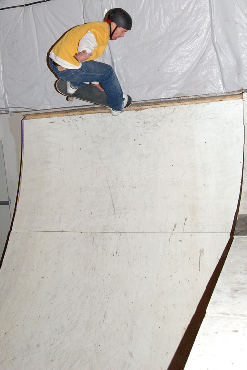 Jim Young, no coping nosepick.