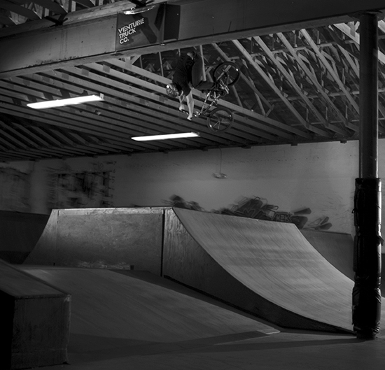 Joel Barnett at east Shore skatepark