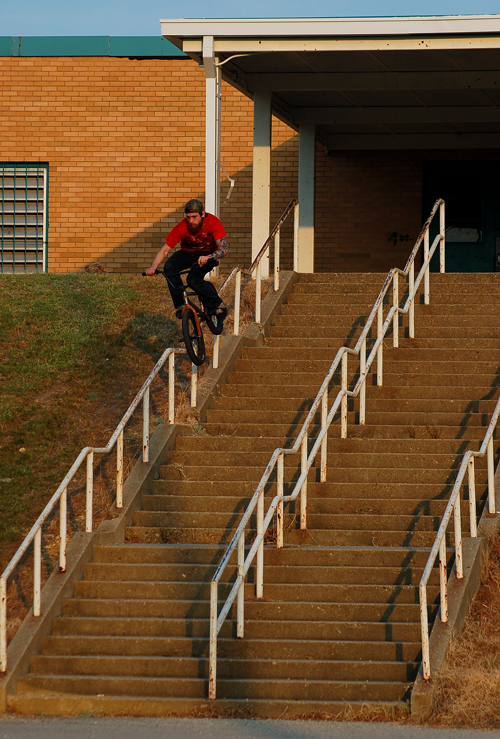 Stoked on this pic, He rode away, 3 stairs Shy... Neil Hise.
