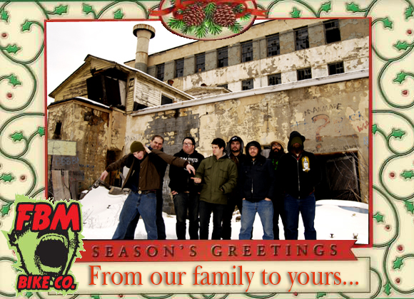 Nothing brings the holiday spirit out like  a crappy Xmas card...
