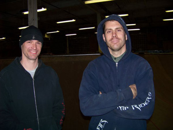 Chad Hehner and Scott ( ramp Riders Dial it inners...)