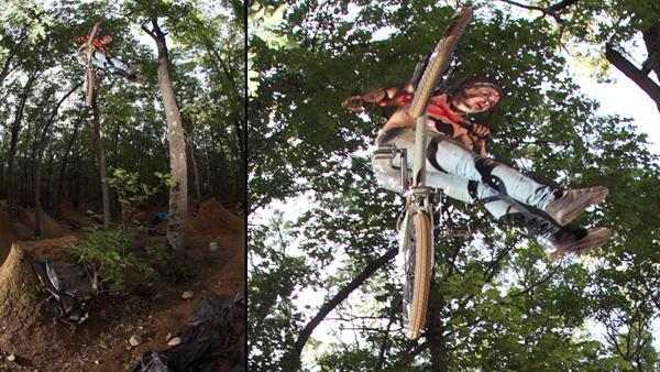GAry Ginch, at Vics trails...
