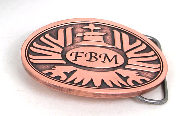 A classic FBM logo, for todays pants!
