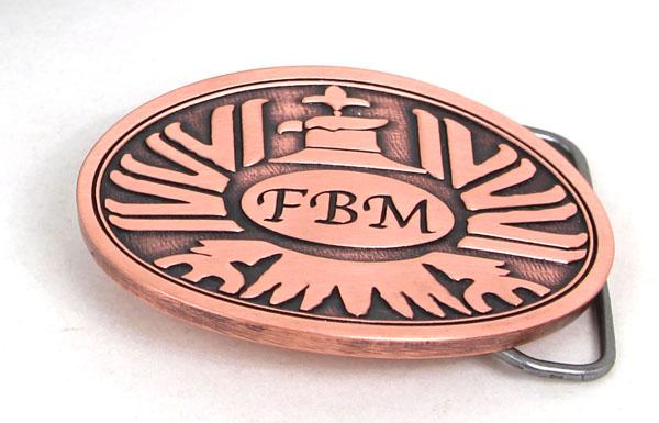 A classic FBM logo, for todays pants!