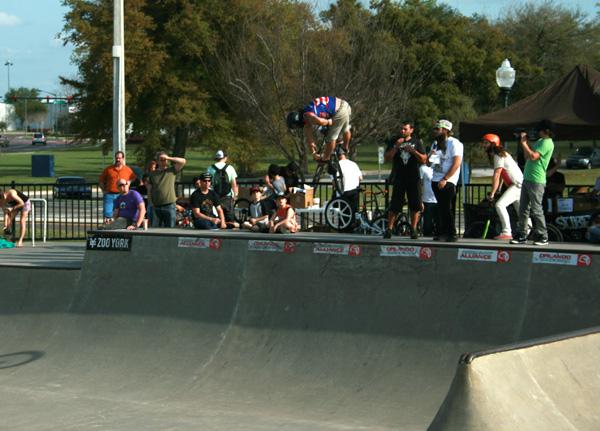 Henny at the the orlando skatepark comp