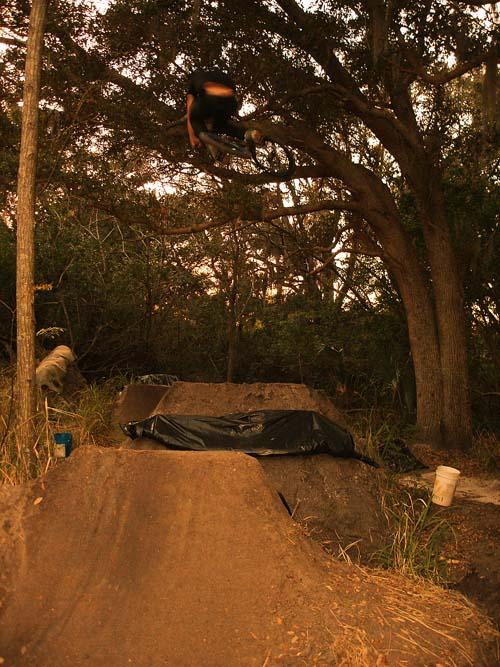 Garrett Pics at Ryan Herbachs trails...