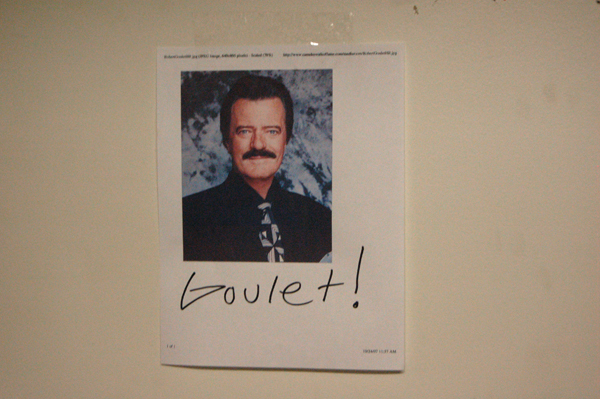 On the wall at the FBM Machine shop #2.