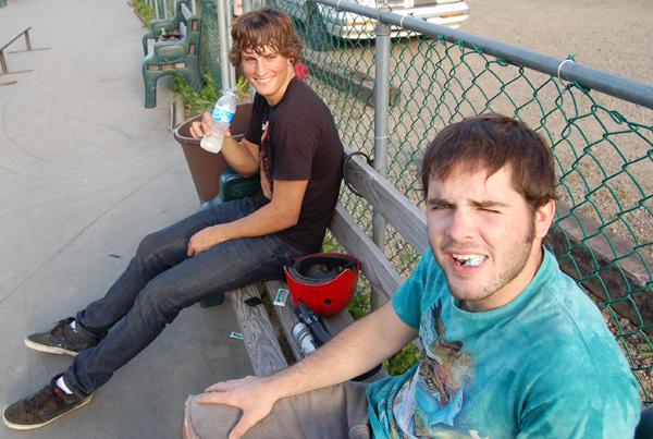 Kie Ashworth and Mikey Corts