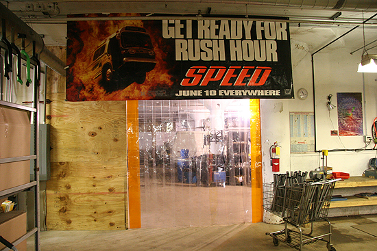 You'd be amazed how cold it is on the other side of the Speed wall, and bummed if you had to work the chop saw in that room.