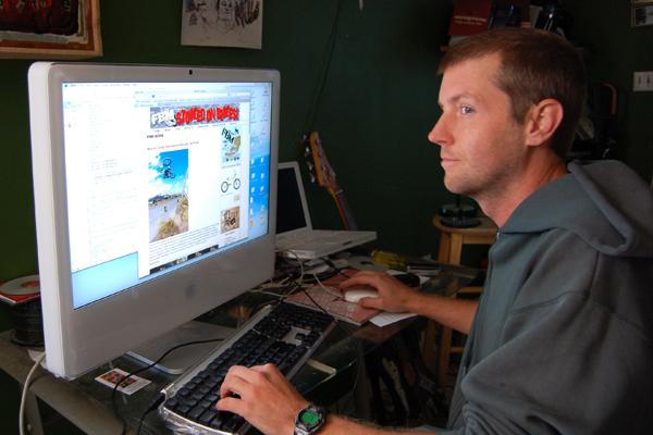 Hal Brindley working on an fbm update...