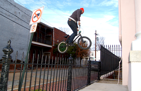 Brian Lee, 360 over a fence...