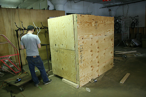 Crate it and freight it.