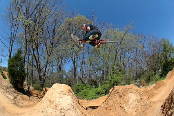 First Day riding dirt jumps this year....