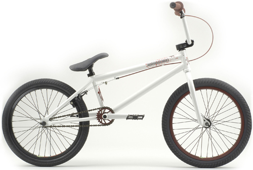 It's a real bicycle, Ice White Warlord.