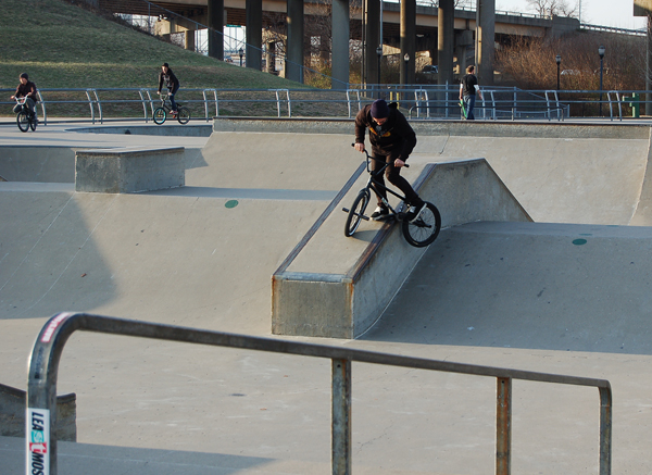 Latane Coghill, pedal slide